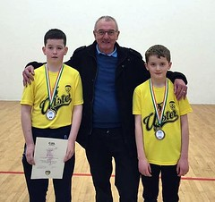 Hugh Meenagh and Boys U11 Doubles