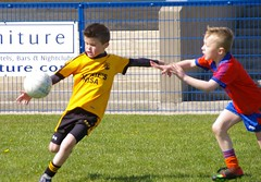 091 Loughmacrory at U8 Football Blitz Apr2016