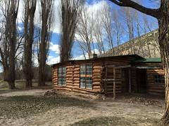 The Josie Morris cabin.