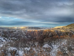 Sunset, Black Canyon of the Gunnison National Park
