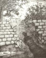 La via del perdono,acquaforte e acquatinta, 2006