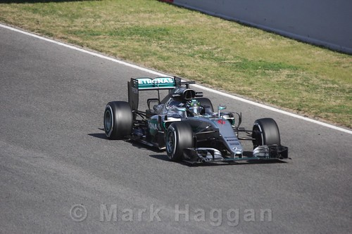 Nico Rosberg in Formula One Winter Testing 2016
