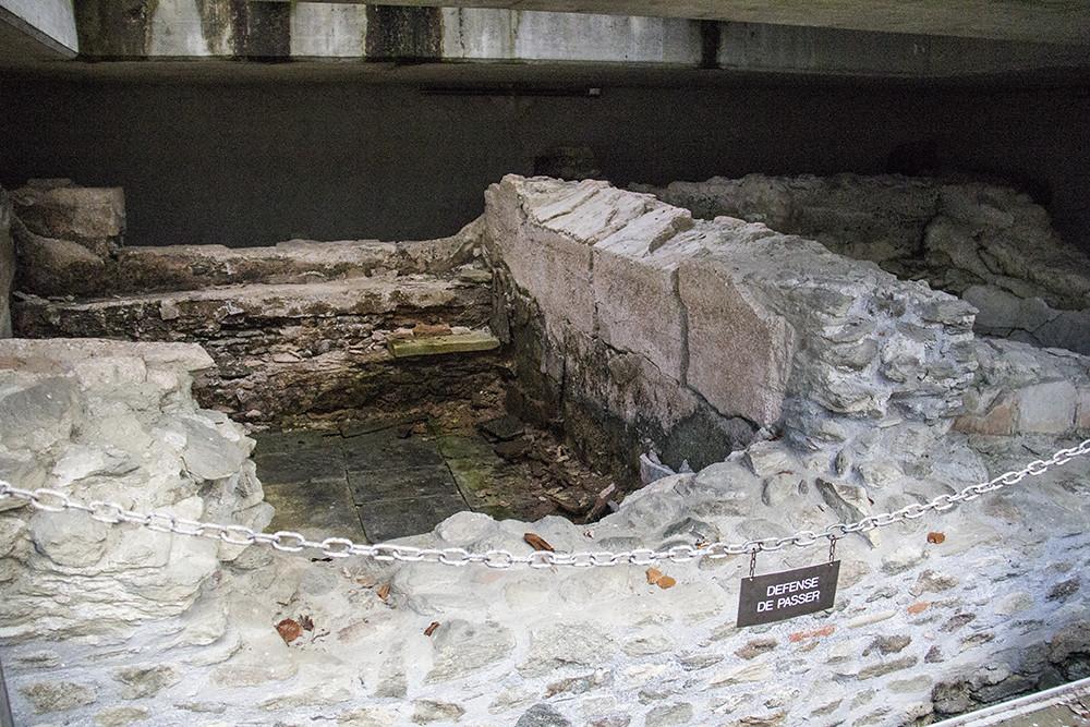 Fondation Gianadda - Ruínas romanas