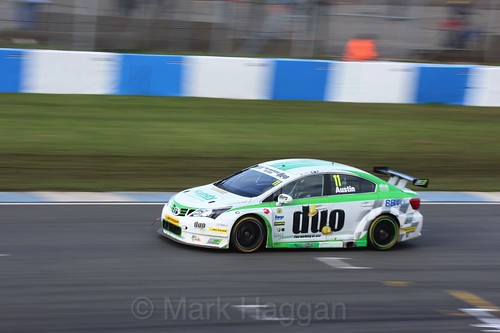 Rob Austin during the BTCC Donington Weekend: April 2016