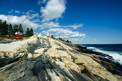 """Pemaquid Light, Maine • <a style=""""font-size:0.8em;"""" href=""""http://www.flickr.com/photos/19514857@N00/25432603943/"""" target=""""_blank"""">View on Flickr</a>"""