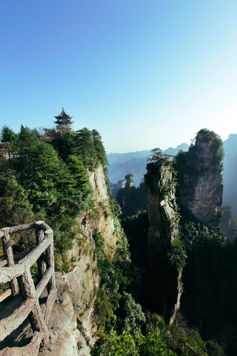 中國,中國旅遊,台灣虎航,張家界,湖南,黃石寨 @VIVIYU小世界