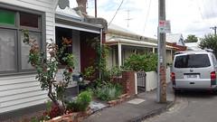 От некоторых домов веет уютом. Розовые кусты, рядом помидоры.