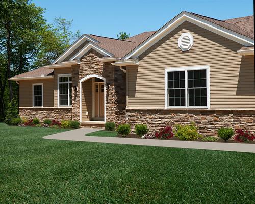 Ranch House Custom Home Floor Plans: The Alexandria