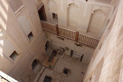 Ce fort est un vrai labyrinthe ! Plusieurs étages et plusieurs cours !