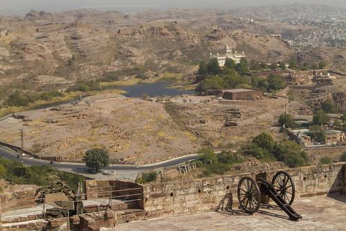 Jodhpur - Aussicht vom Mehrangarh Fort