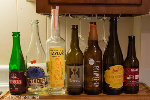 Weekend Bottles @ Home