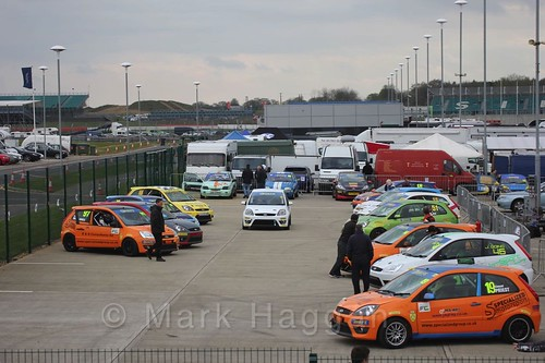 The BRSCC Fiesta Championship at Silverstone, April 2016