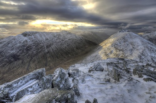Buchaille Etive Beag in Snow