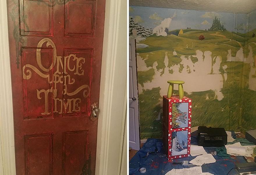 媽咪將我的房間變成童話故事的奇幻森林啦~ | Wondershow 玩秀網 - 享受生活 從體驗藝文展演開始