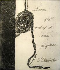 A. DI BARI_La collana di Hana Pulpanova, acquaforte e acquatinta, 2007