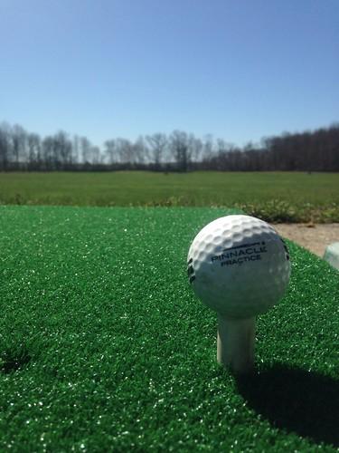 Golf+Practice+In+Arizona+At+Dove+Mountain