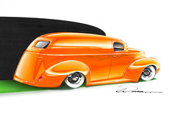 40 Ford Delivery Sedan