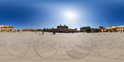 Amber Fort Jaipur - Panorama