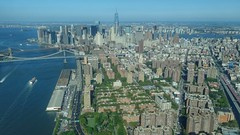NYC aerial image