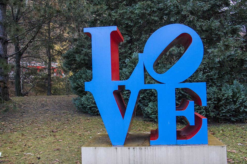 Fondation Gianadda - Robert Indiana - LOVE 2