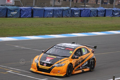 Matt Neal in the BTCC Media Launch Event 2016