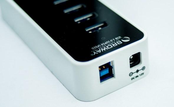 電腦不需開機就能幫手機充電!Broway 7-Port USB HUB 集線器運作、供電都穩定~ 25152527954_e18570b372_b