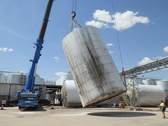Removal of Tanks