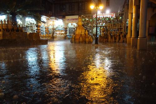La pluie torrentielle s'abat sur Pelico !