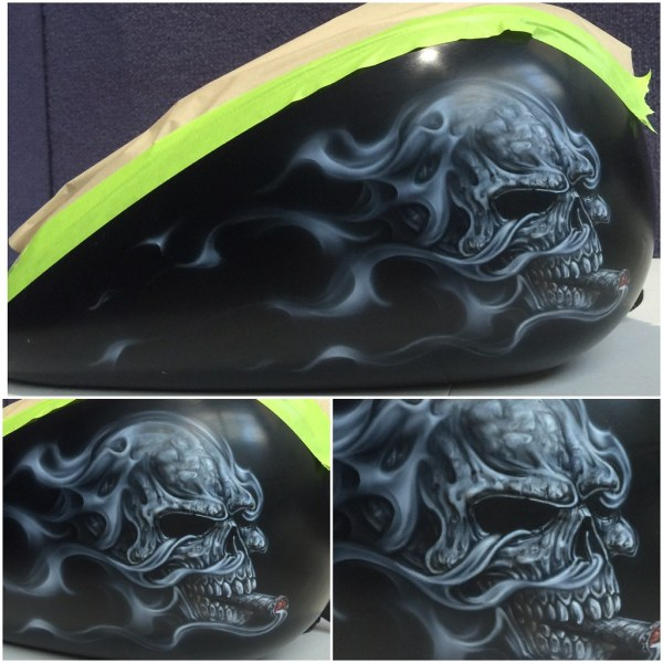 World' Of Airbrush And Skulls