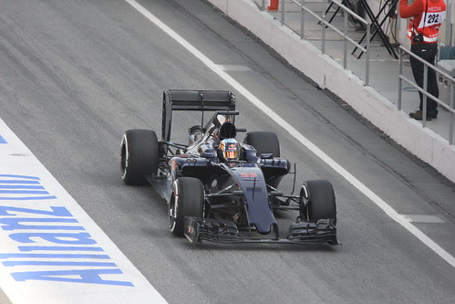 Carlos Sainz Jr in Formula One Winter Testing 2016