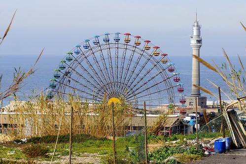 Beyrouth / Luna Park et nouveau phare
