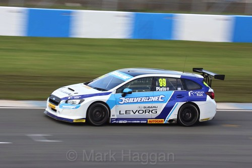 Jason Plato during the BTCC Weekend at Donington Park, April 2016