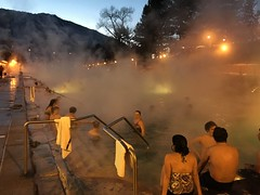 Glenwood Hot Springs on New Year's Eve 2015