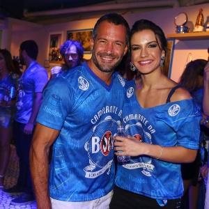 Malvino Salvador e Kyra Gracie serão pais novamente