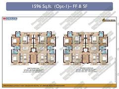 Datasheet of 3BHK Omaxe Celestia Royal Floors