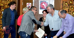 Bujar Receiving Certificate
