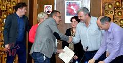 Bujar Receiving Certificate