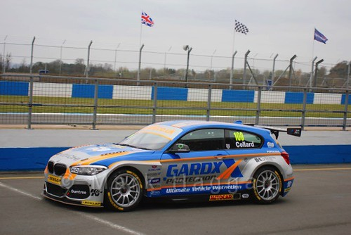 Rob Collard in the BTCC Media Launch Event 2016