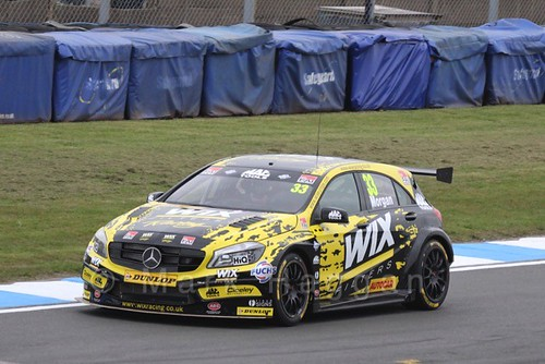 Adam Morgan in the BTCC Media Launch Event 2016