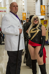 "Kingpin and Ms Marvel! #C2E2 #cosplay • <a style=""font-size:0.8em;"" href=""http://www.flickr.com/photos/33121778@N02/25849545332/"" target=""_blank"">View on Flickr</a>"