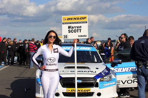 Warren Scott during the BTCC Weekend at Donington Park, April 2016
