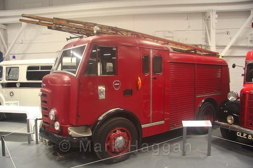 A Fire Engine at Coventry Transport Museum