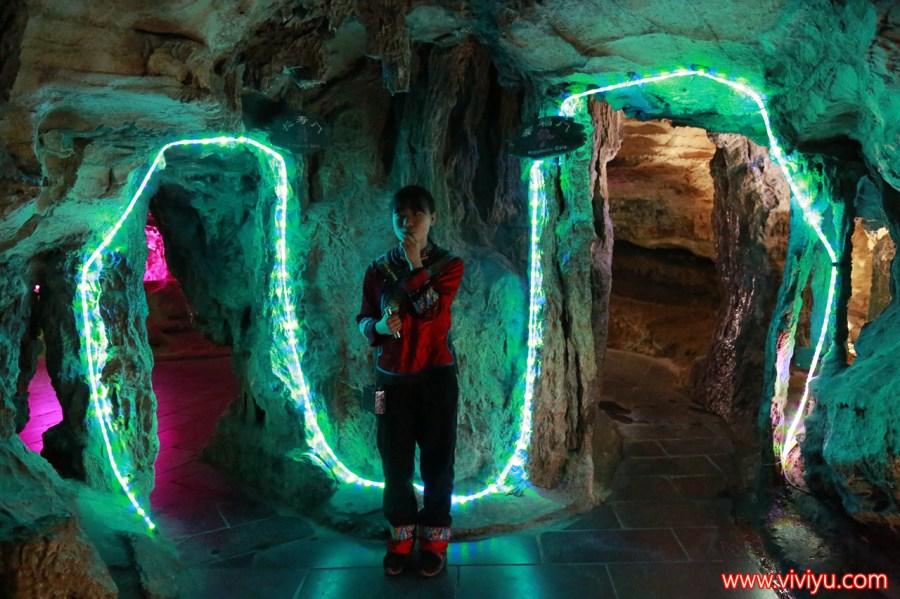 中國,中國旅遊,台灣虎航,張家界,武陵源,武陵源風景區,黃龍洞 @VIVIYU小世界