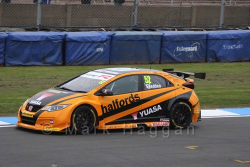 Gordon Shedden at the BTCC Media Launch Event 2016