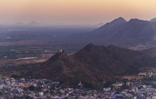 Sonnenaufgang über Pushkar