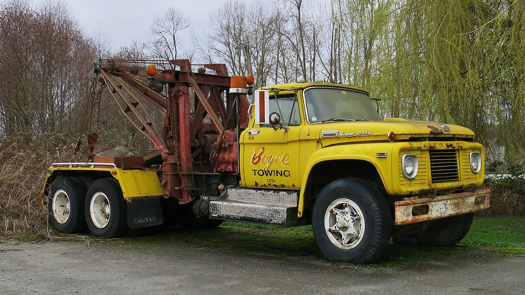 1963 Ford Tow Truck