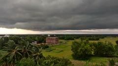 ঝড়ের আগে...  দক্ষিণ ক্যাম্পাস, চট্টগ্রাম বিশ্ববিদ্যালয়