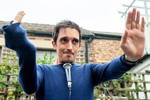 secret garden show at Hastings Fringe Comedy Festival 2018