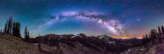 Milky Way over the South San Juan Mountains