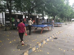 Ping Pong im Park
